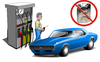 System for identifying and recording acts of gasoline thefts