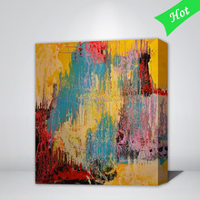 Simple abstract paintings,abstract art picture,stretched abstract oil painting