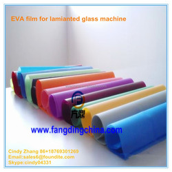 China professional manufacturer supply EVA hot melt adhesive film for laminated glass