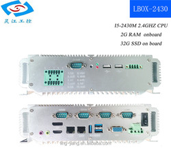 pc compact I5 2.4GHZ 32G SSD ultra-low-power industrial pc