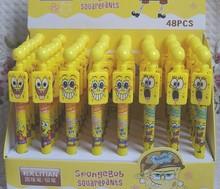 New Kawaii Sponge Bob ball point pen / Fashion Style pen / Promotion Gift