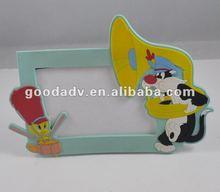 2012 hot sale 3d soft pvc photo frame