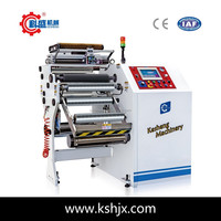Automatic Printed Flexible Plastic Film Finished Roll Rewinding Machine