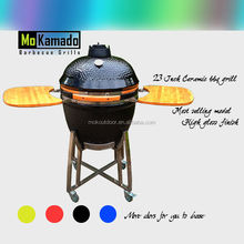 Ceramic kamado grill wholsale charcoal barbecue grill smoker factory wholesale