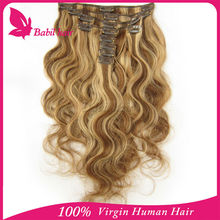 grey color clip in hair extension afro kinky curly 100% human hair extensions