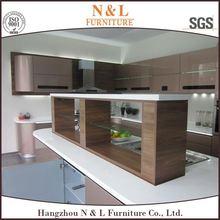 wooden cabinet Beautiful&Precious kitchen design ideas american kitchen with islands