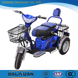 electric three wheel electric vehicle motorcycle for passenger