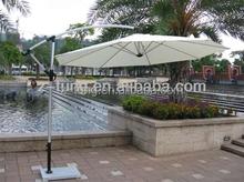 ZT-7004U adjustable sun 3m white metal patio Umbrellas