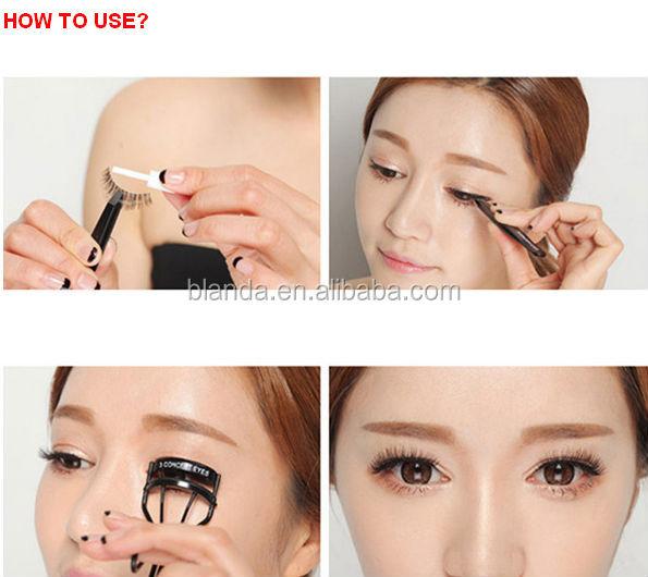 Best Quality Korean Natural Hand Made False Eyelash Flare Style
