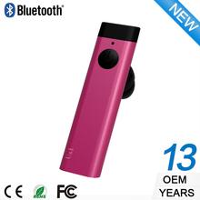 Completamente automático inteligente estilo! Colorido de aluminio de Bluetooth del auricular BH023RT