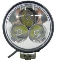 Hot sell 9w led work light waterproof IP67 round for motorcycle led light