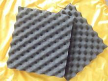 New Black Fireproof PU Film Sound Absorption Foam Sheet