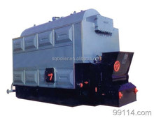 1ton/h automatic feeding and Horizontal Solid Fuel Boiler