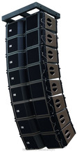 "Outdoor Sound System+Dual 8"" Line Array Speaker System"