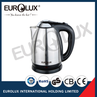 1.8L electric stainless steel kettle 2000W cordless