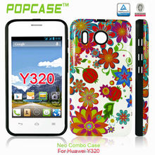 2 IN 1 Combon hard design case for Huawei Y320