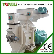 YongLi CE approved biomass ring die wood pellet making machine