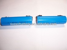 Li-ion rechargeable battery CNL 18650 3.2V 1400mAh cylinder cells with flat top