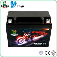 High Performance Sealed Lead Acid 12v Dry Battery for YB6.5L-BS