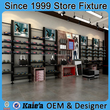 wooden store fixtures for clothing boutique