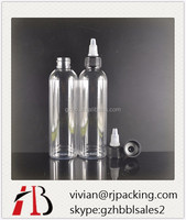 30ML 60ML 120ML clear twist top bottle cap, plastic HDPE adhesive glue dropper bottle with twist top dropper cap