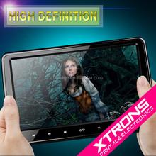 "10.1"" HD Digital TFT Screen Ultra-thin Design Touch Button Car Headrest DVD Player with HDMI Port"