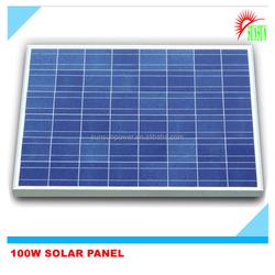 Best price for 100W power solar panel