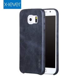 X-Level Factory Sale PU Cell Phone Case Cover For Samsung Galaxy S6 Case