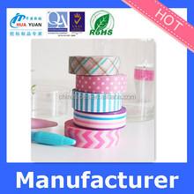 china japanese washi paper wholesale Decorative DIY rice paper tape