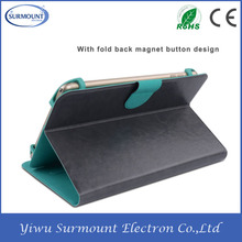 Excellent quality shockproof cute leather flip universal tablet case tablet universal leather case