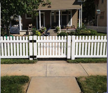 Factory direct sale PVC commnity fence