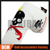 Factory Wholesale Skull Putter Golf Headcovers, Magnetic Closure Putter Covers
