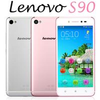 In Stock Original 5 inch Lenovo S90-u S90 4G LTE Mobile Phone Snapdragon 410 Quad Core Android 4.4 Dual SIM 16GB 13.0MP Camera