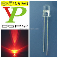 5mm Red led, Red diode, Red dip led