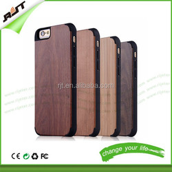 Newest unique type cell phone case bamboo phone case cover for iphone 6