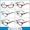 2014 new design acetate eyeglasses frame with CE certificate acetate optical frame MOQ 300pcs BRP4022