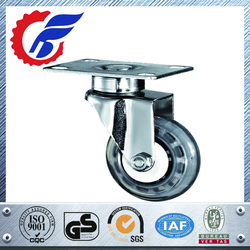 """3""""4""""5"""" PP or PU Wheel Caster Wheel With or Without Brake For Medical"""
