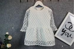 Princess flower girl Tulle dress first birthday dress for kids
