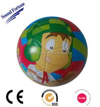 2015 PVC machine-sewn cartoon soccer ball