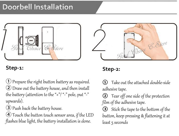 Install Ring Doorbell With Adhesive