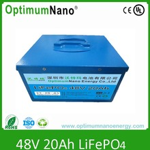 lifepo4 battery 48v 20ah for UPS, solar/wind system,energy storage,e-tool