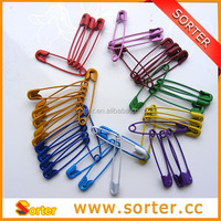 colorful decorative safety pin