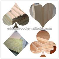 1220x2440 block board poplar core pine core Paulownia core