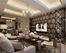 New Arrival Deep texture PVC Wallpaper Interior 3d wallpapers
