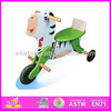 2015 New Kids wooden tricycle,populae lovely wood bike,hot sale good baby tricycle wholesale (WJY-8302)
