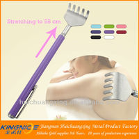 new hand retractable plastic electric back scratcher with heat