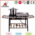 electrónico strike de hierro fundido portátiles estufa de leña