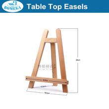 in stock 28cm mini wood easel mini wood tripod easel