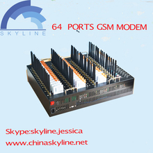 3G modem with 64 ports bulk sms with USB /RJ45 interface