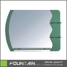 fashion clear irregular wall mirror decoration designer mirror